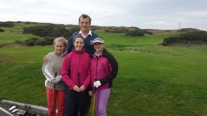 President John with Junior Girls